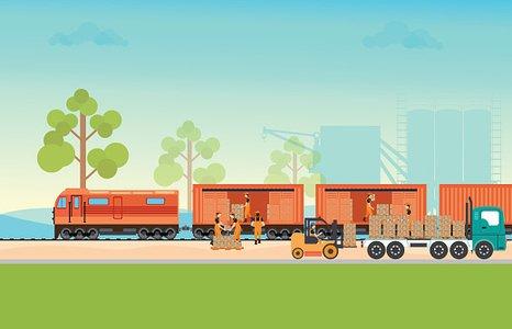 Clipart train freight train. Cargo premium clipartlogo com