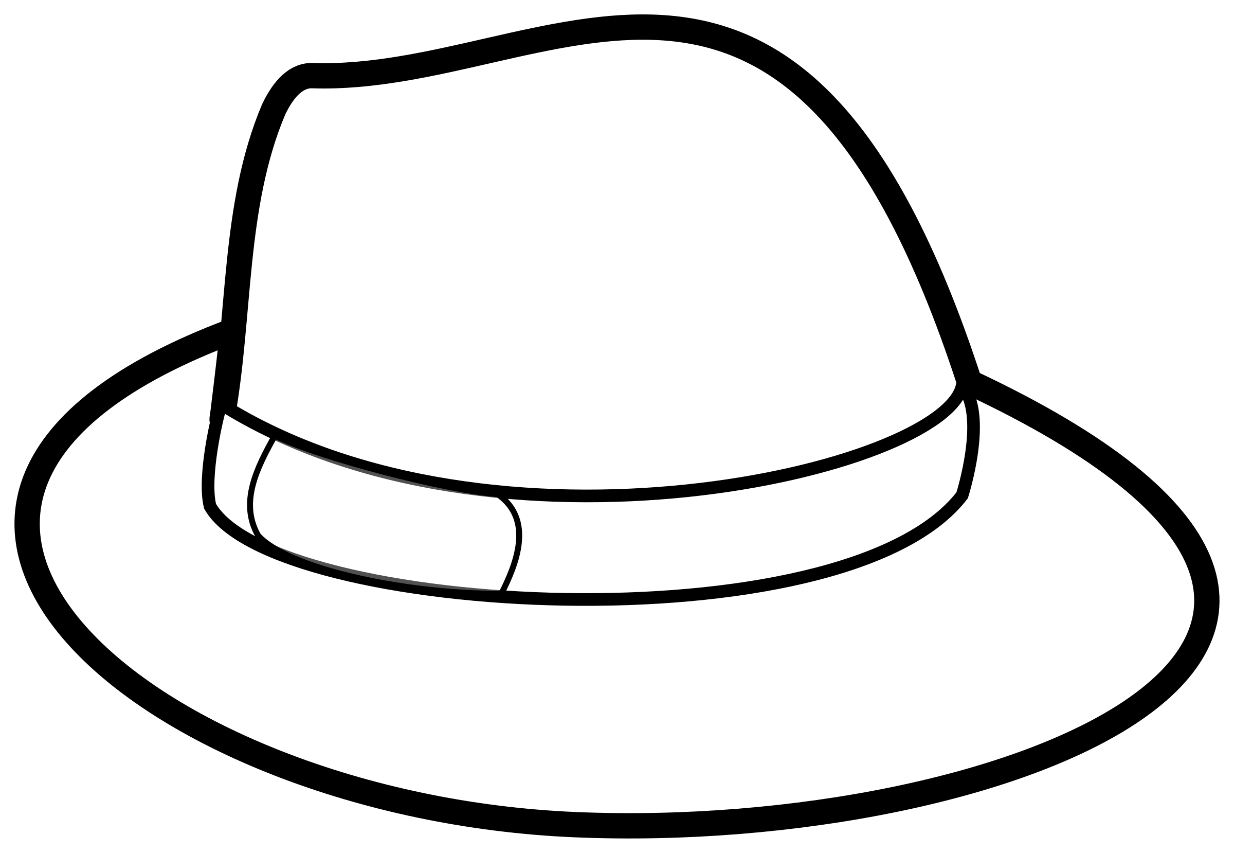 Collection brown clip art. Fedora clipart hat bavarian