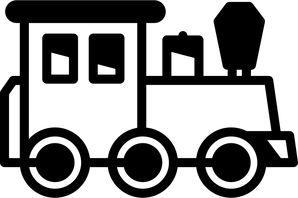 Facing right svg png. Clipart train icon