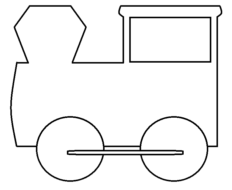 Train black and white. Engine clipart engineering