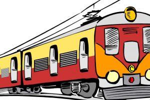 Clipart train local train. Portal