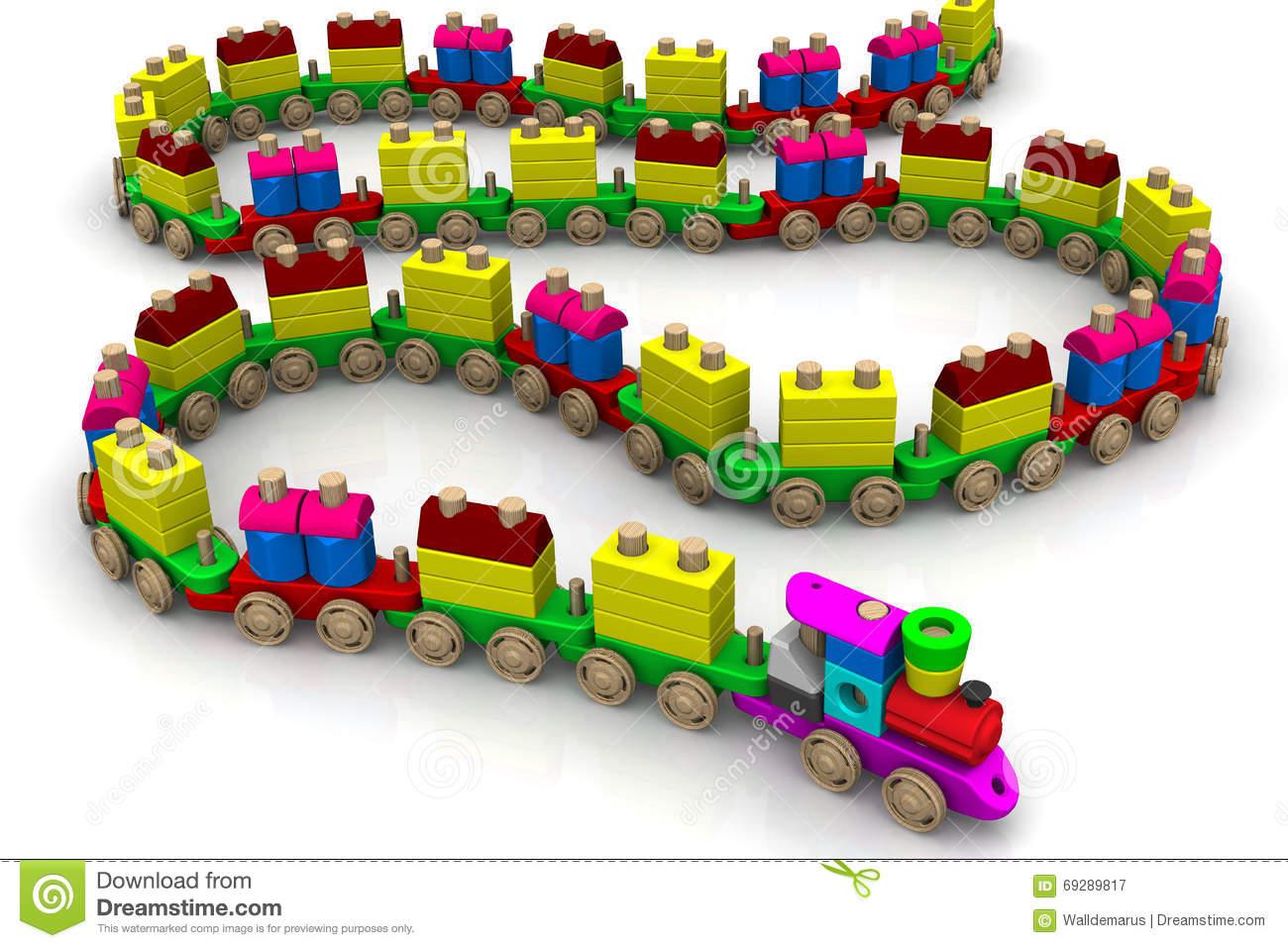 clipart train long train