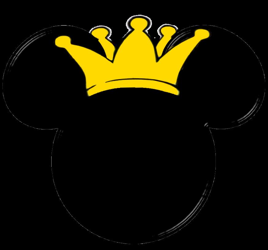 Disney clipart ear. Imprimibles de la silueta