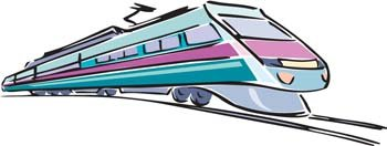Free trains and vector. Clipart train modern