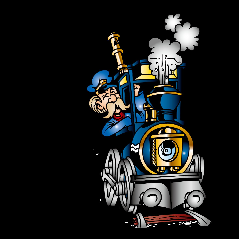 Engine clipart train conductor. Railroad engineer steam locomotive