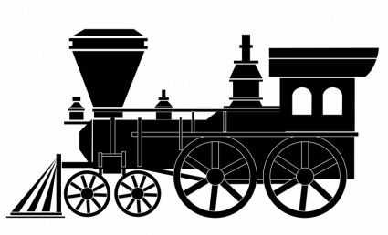 Collection of free download. Clipart train old train