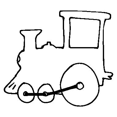 Clipart train outline. Free download clip art
