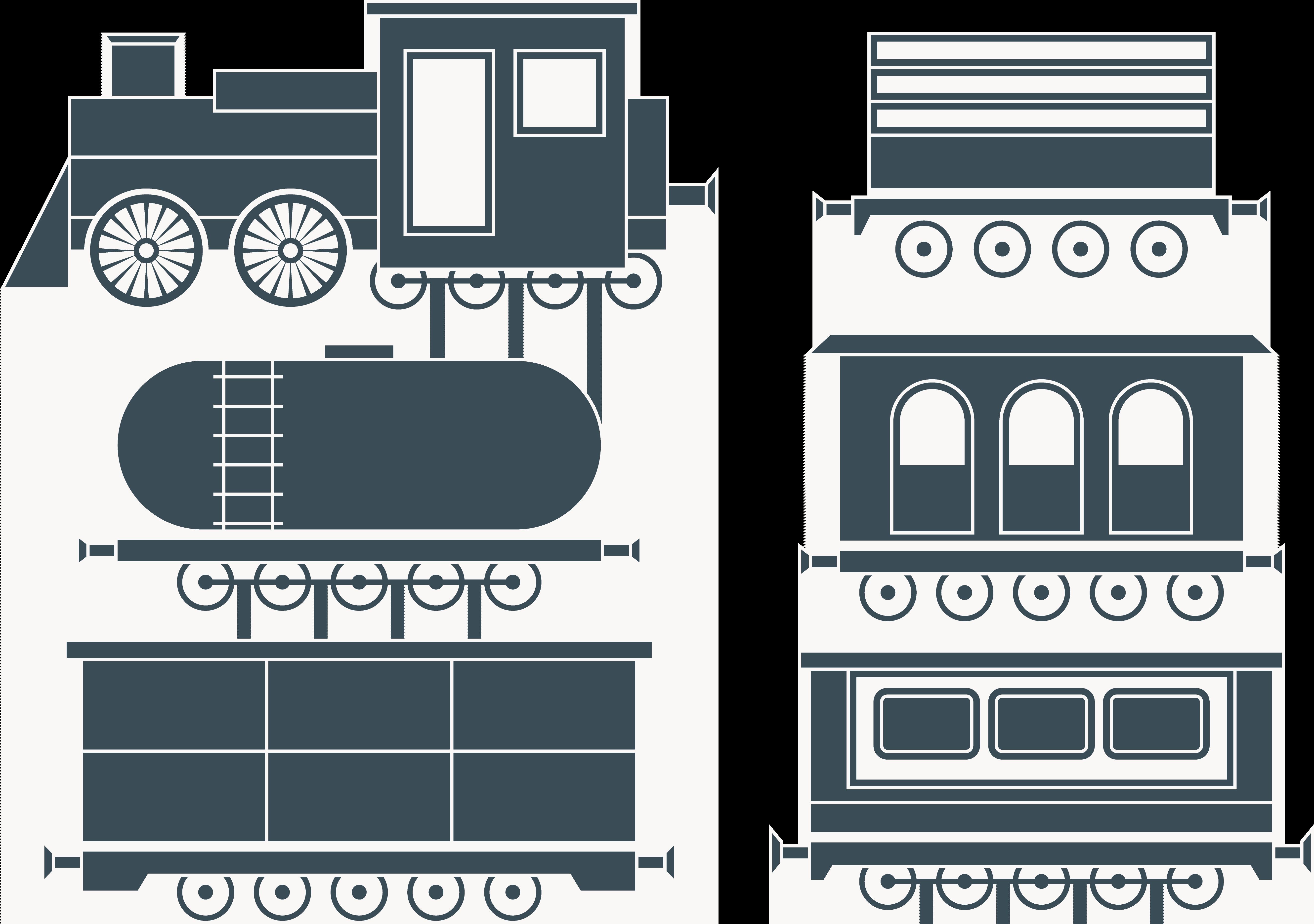 Car steam locomotive cartoon. Clipart train passenger train