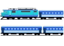 clipart train passenger train