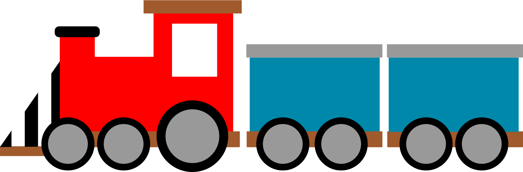 By agomjo on openclipart. Kindergarten clipart train