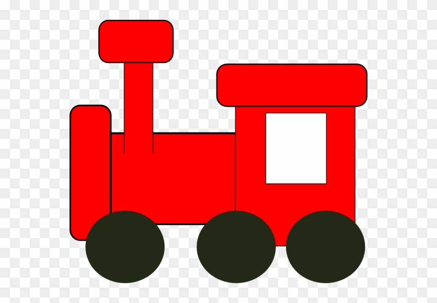 Clip art toy png. Clipart train red