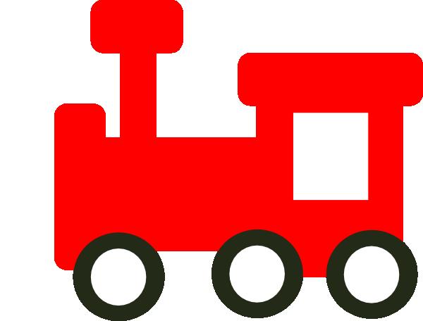 Clip art cartoon picture. Clipart train red