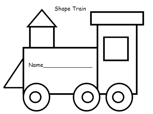 views paperer train. Engine clipart template
