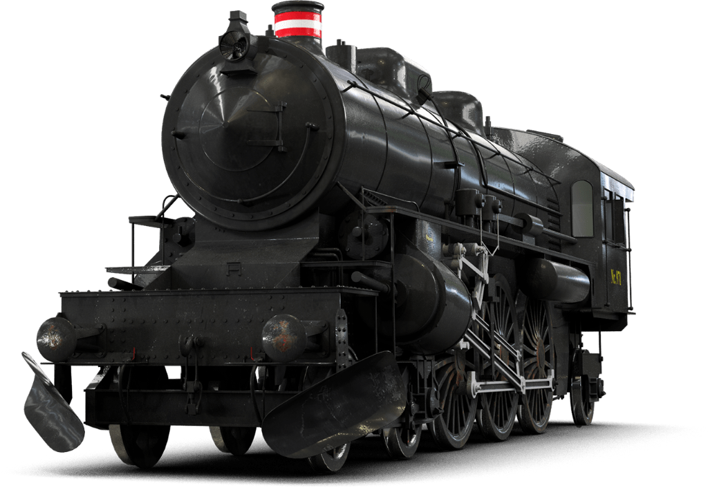 Locomotive front view transparent. Steampunk clipart train