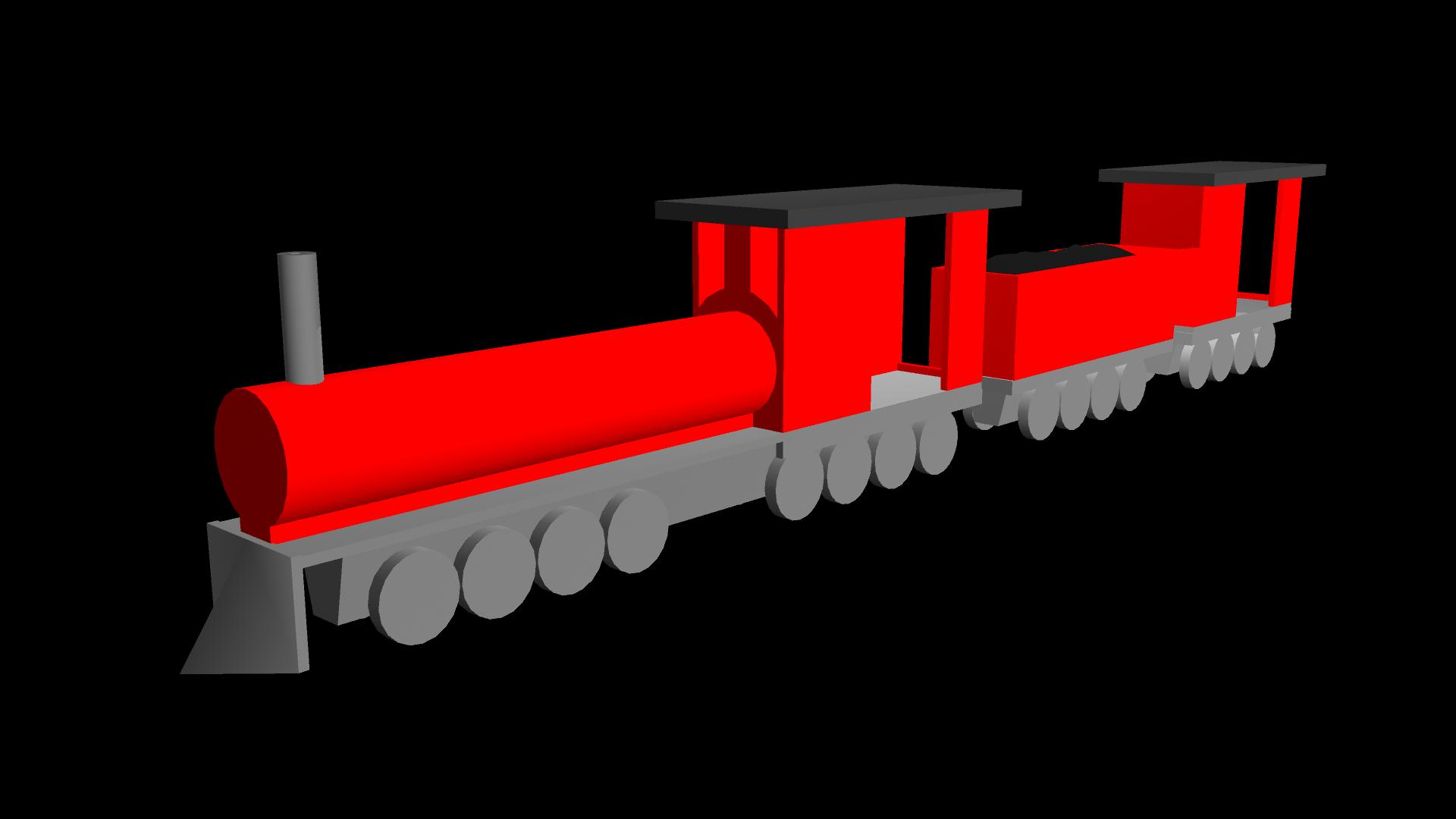 Task d modelling maya. Clipart train toy train