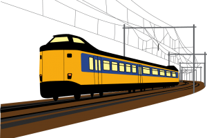 Portal . Clipart train trail