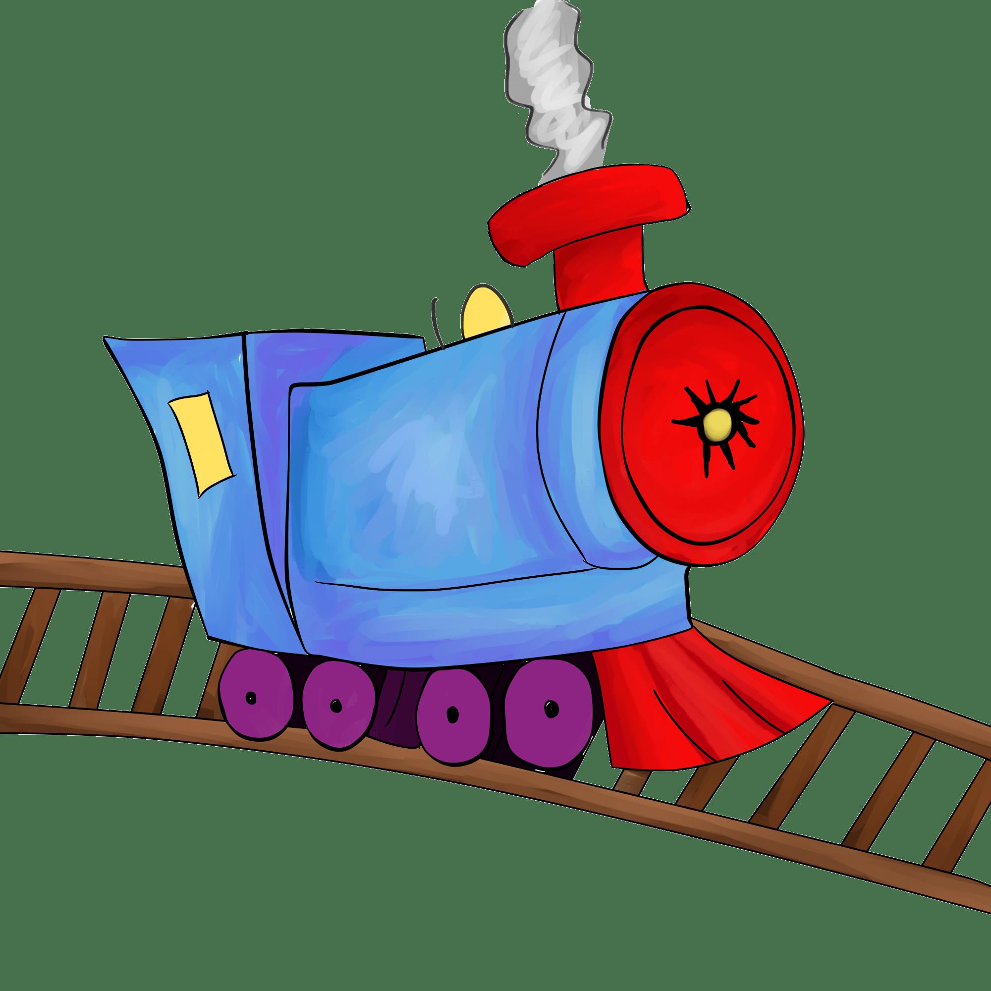 Clipart train trail. Portal