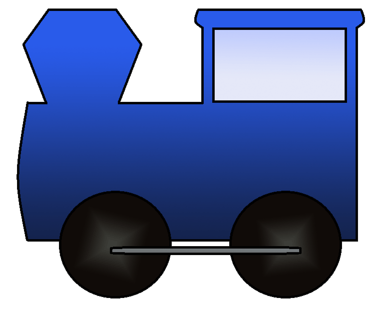 engine clipart front train