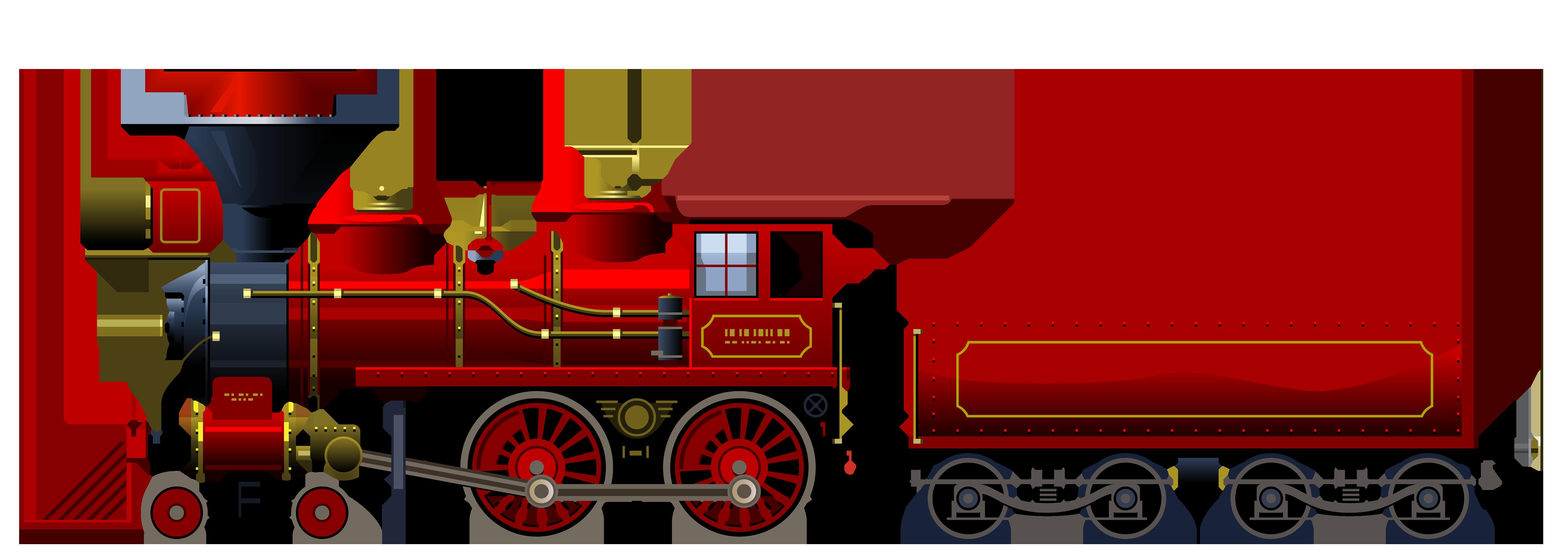 Transportation clipart name. Red locomotive png best