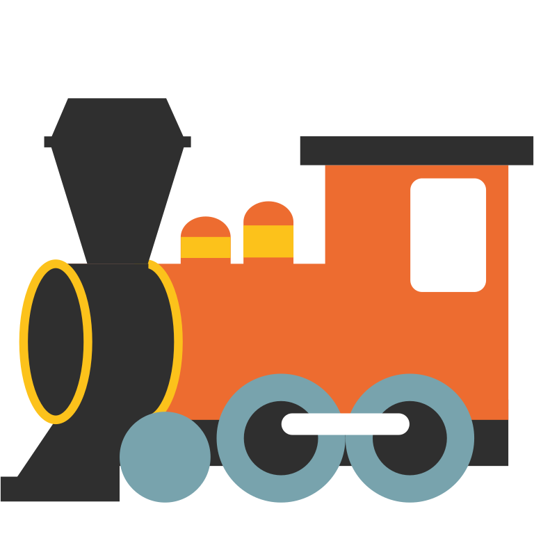 Steampunk clipart train. Steam silhouette at getdrawings