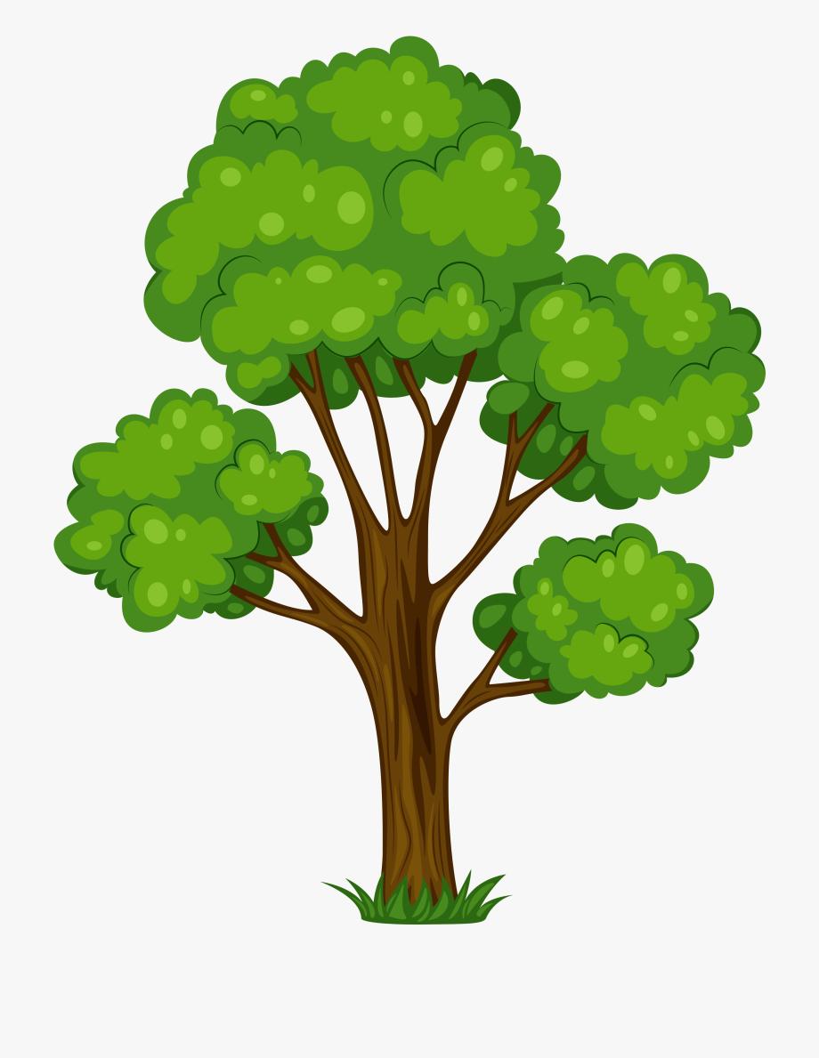 Clip art free image. Tree clipart oak