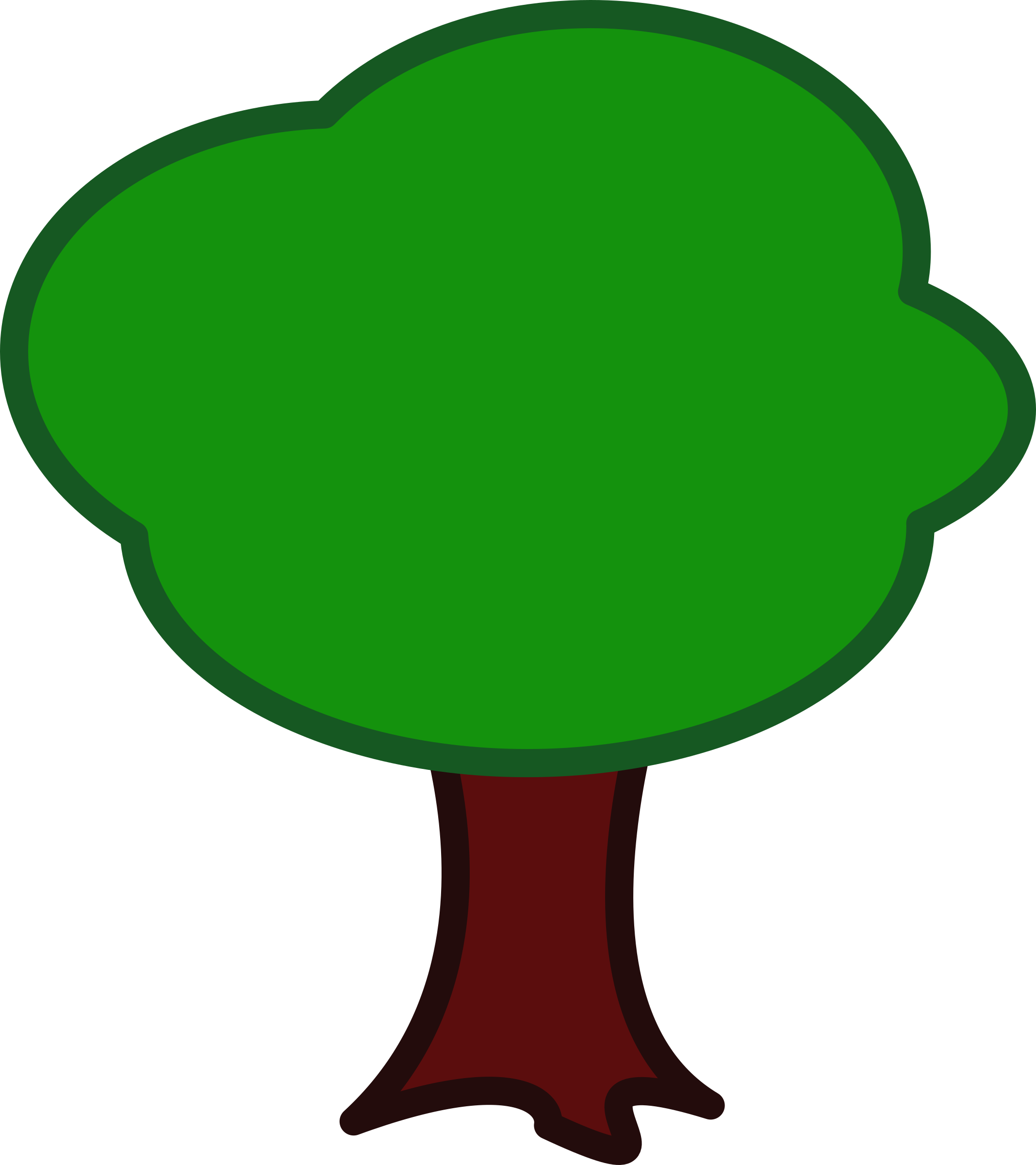Tree clipart animation. Big image png