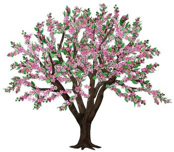 Clipart tree apple blossom. Free cliparts download clip
