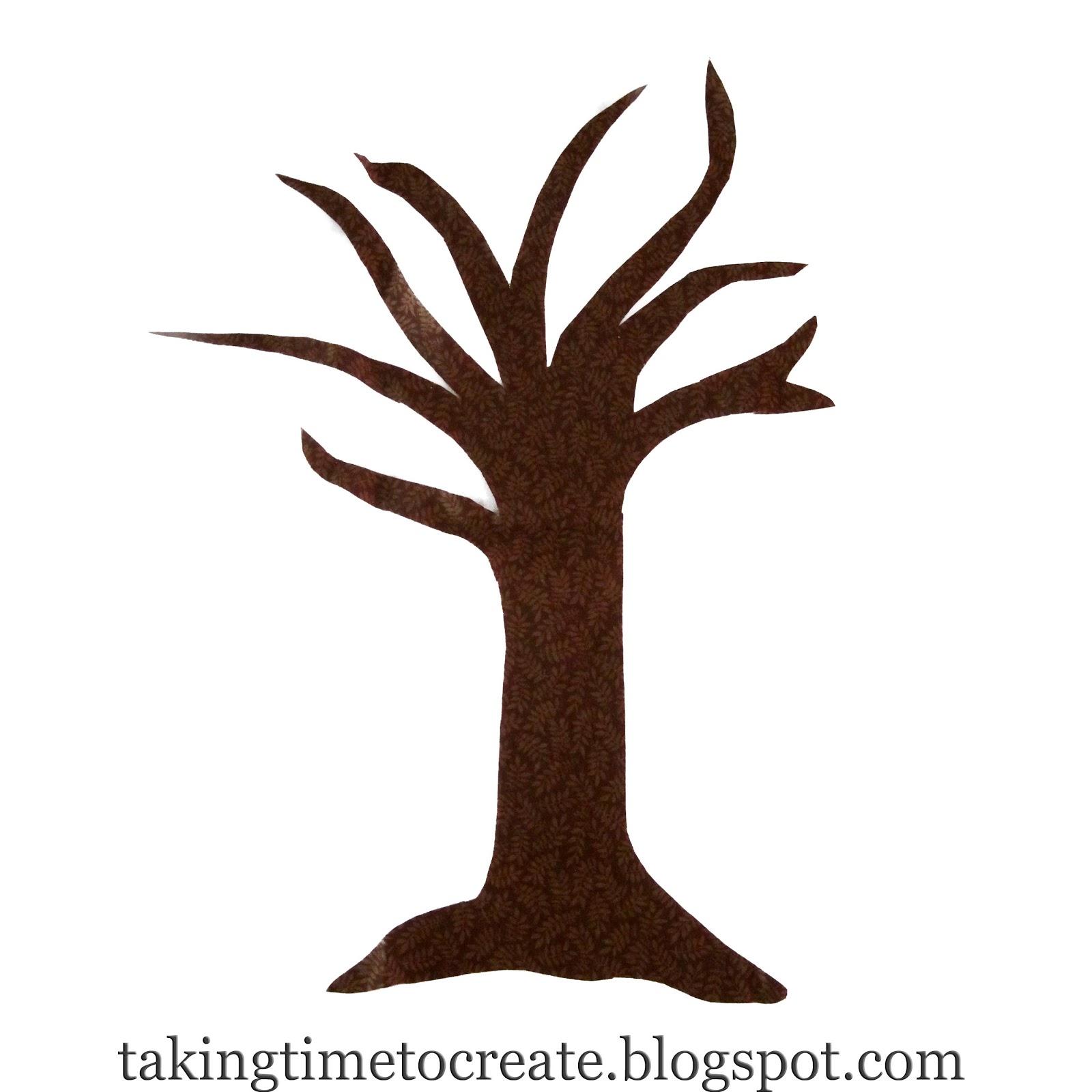 Simple bare clip art. Tree clipart base