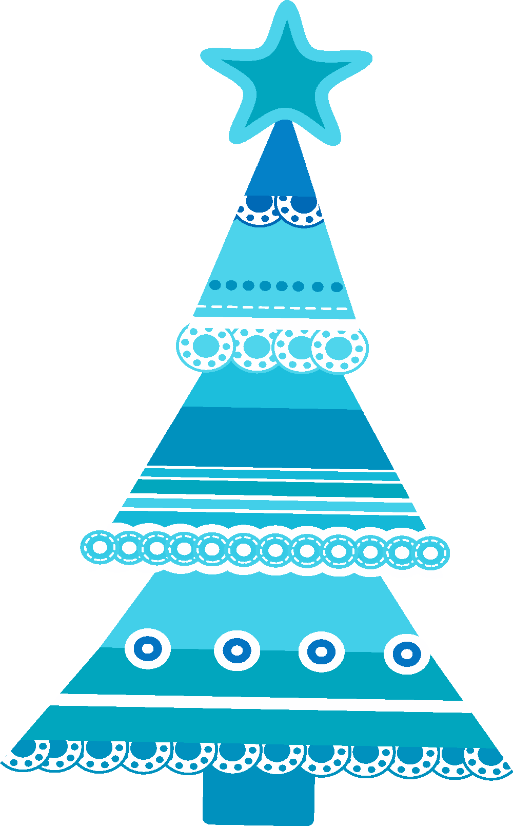 Christmas clip art pinterest. Tree clipart blue
