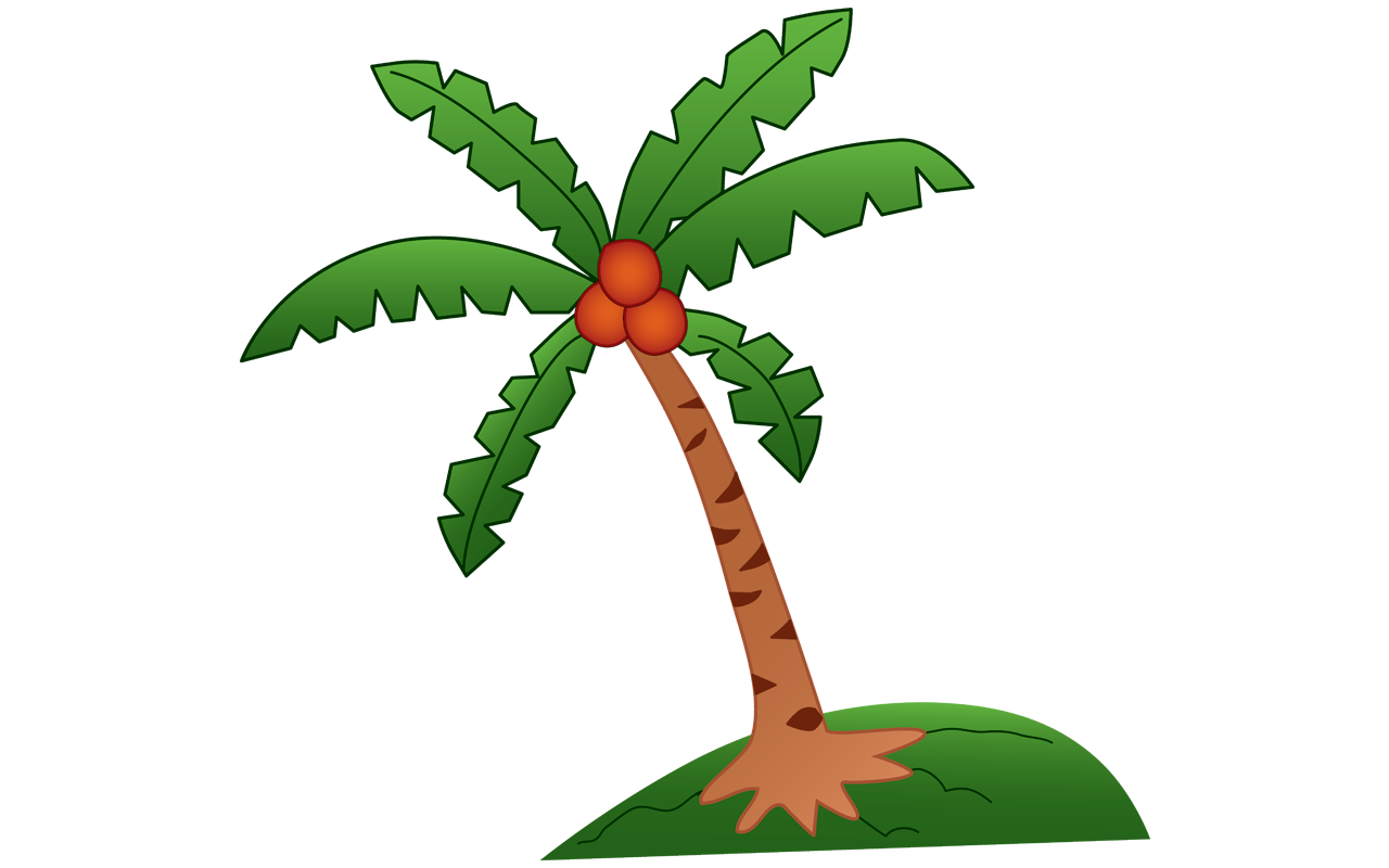 Coconut free download best. Clipart tree buko
