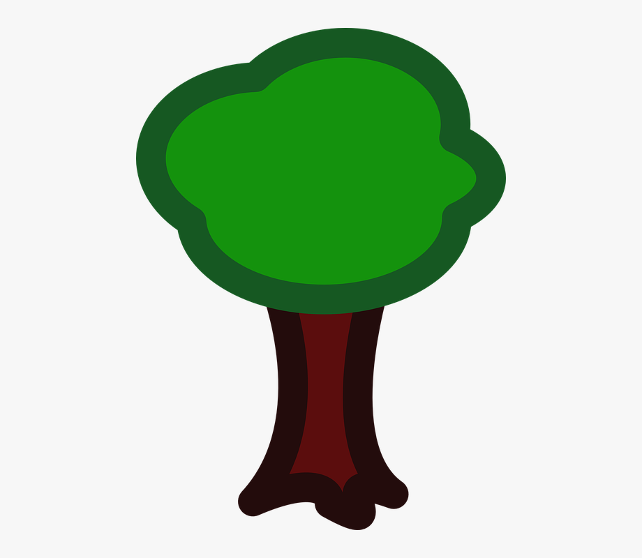 Apple forest eco ecology. Nature clipart tree