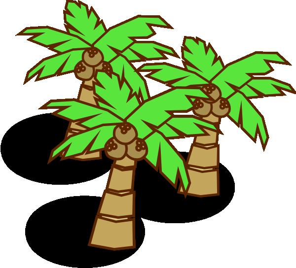 Tree clipart science. Coconut trees clip art