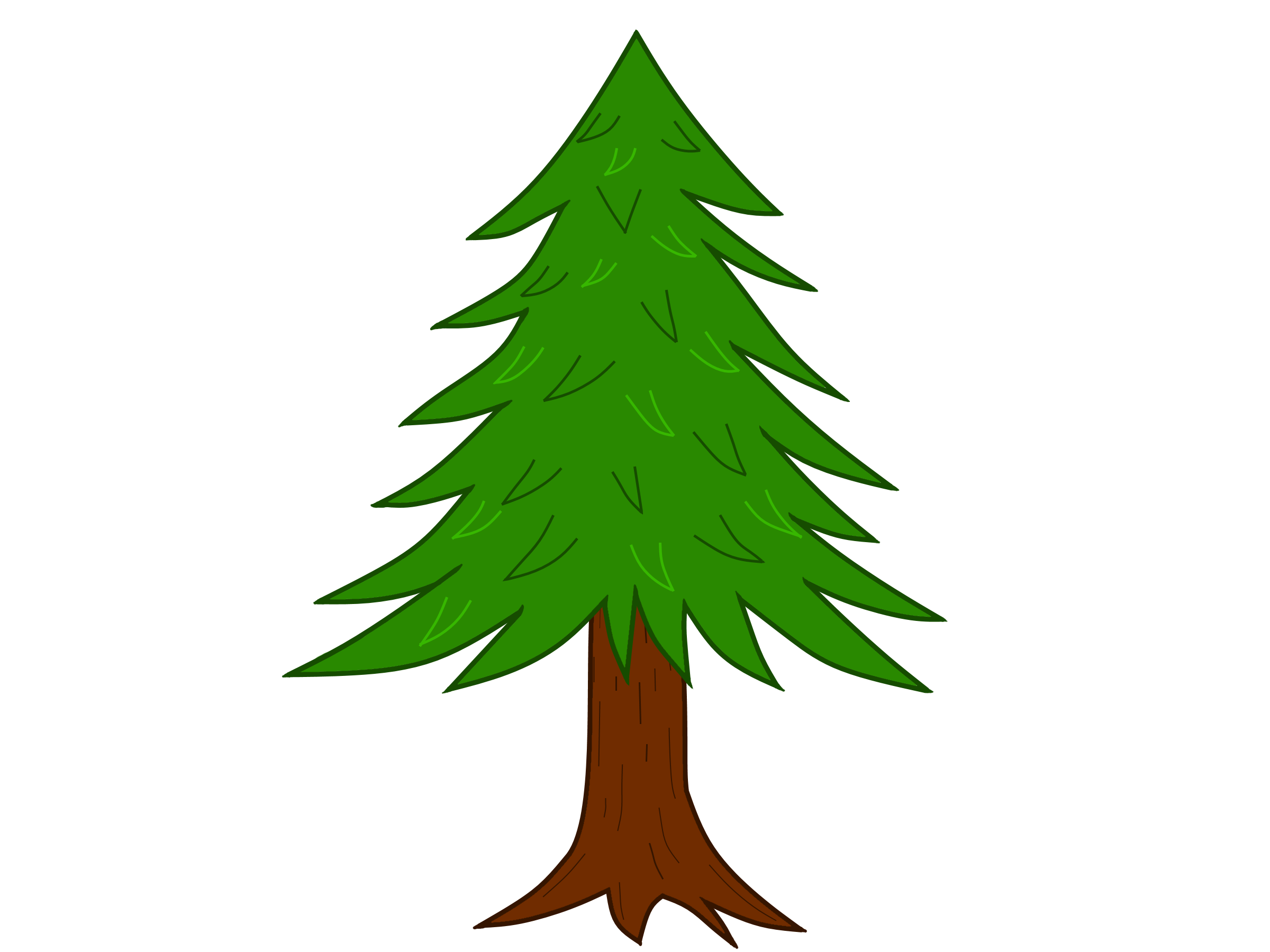 Tree Drawing Images With Colour Bestchristmasdeals Org