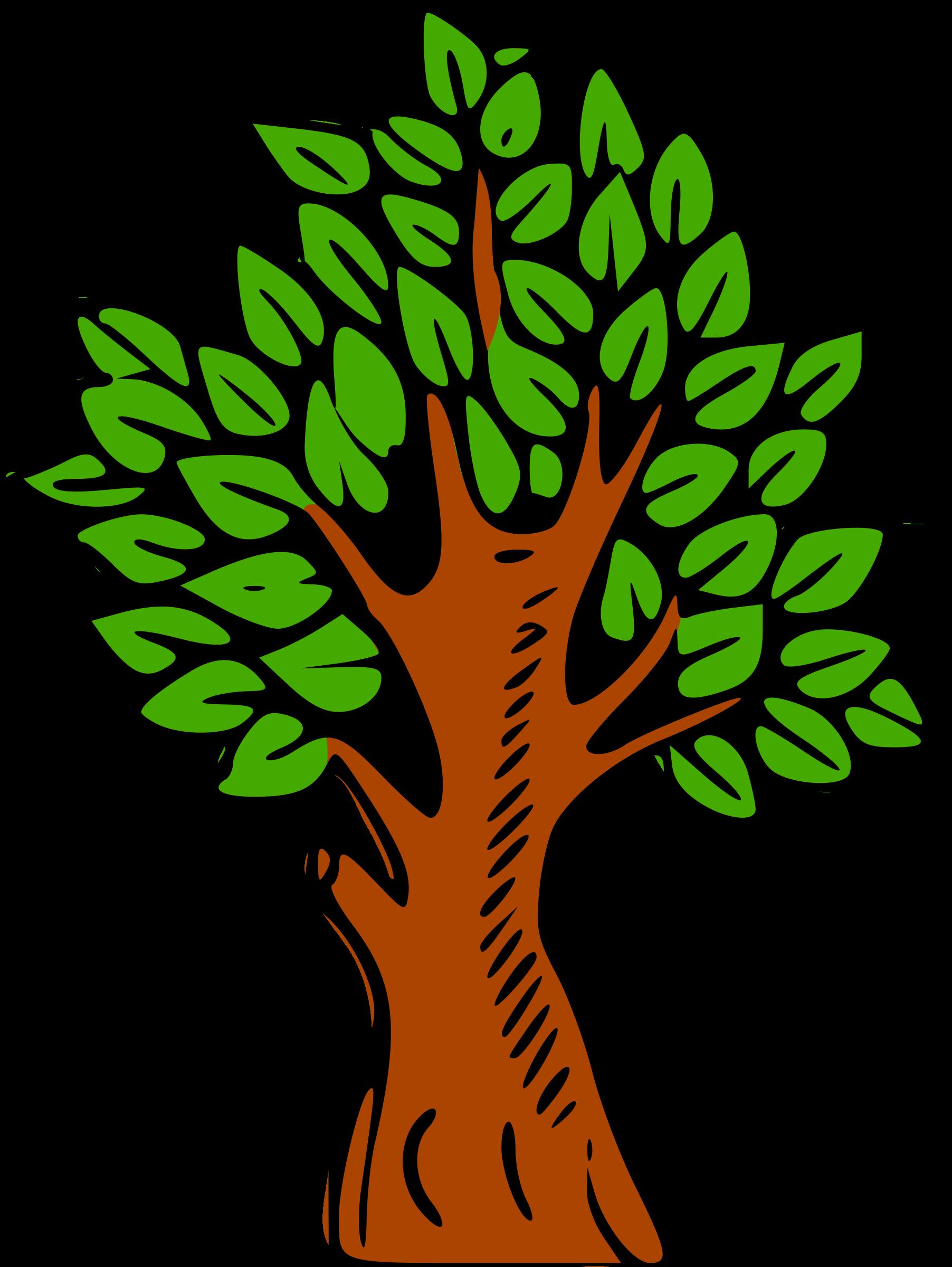 Tree clipart colour. Big image png