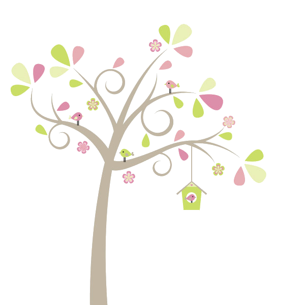 Tree clipart cute. Png by hanabell deviantart