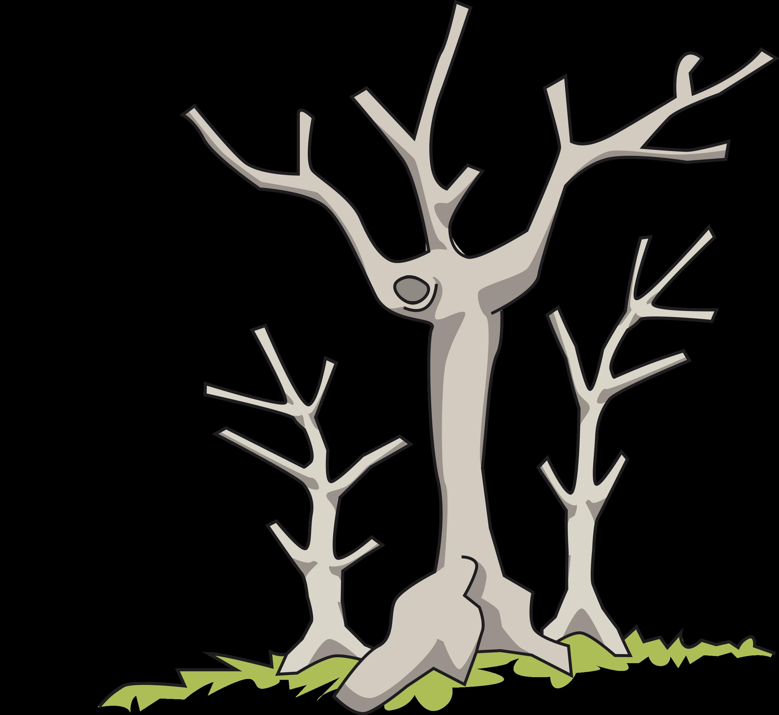 Clipart trees dead. Big image png