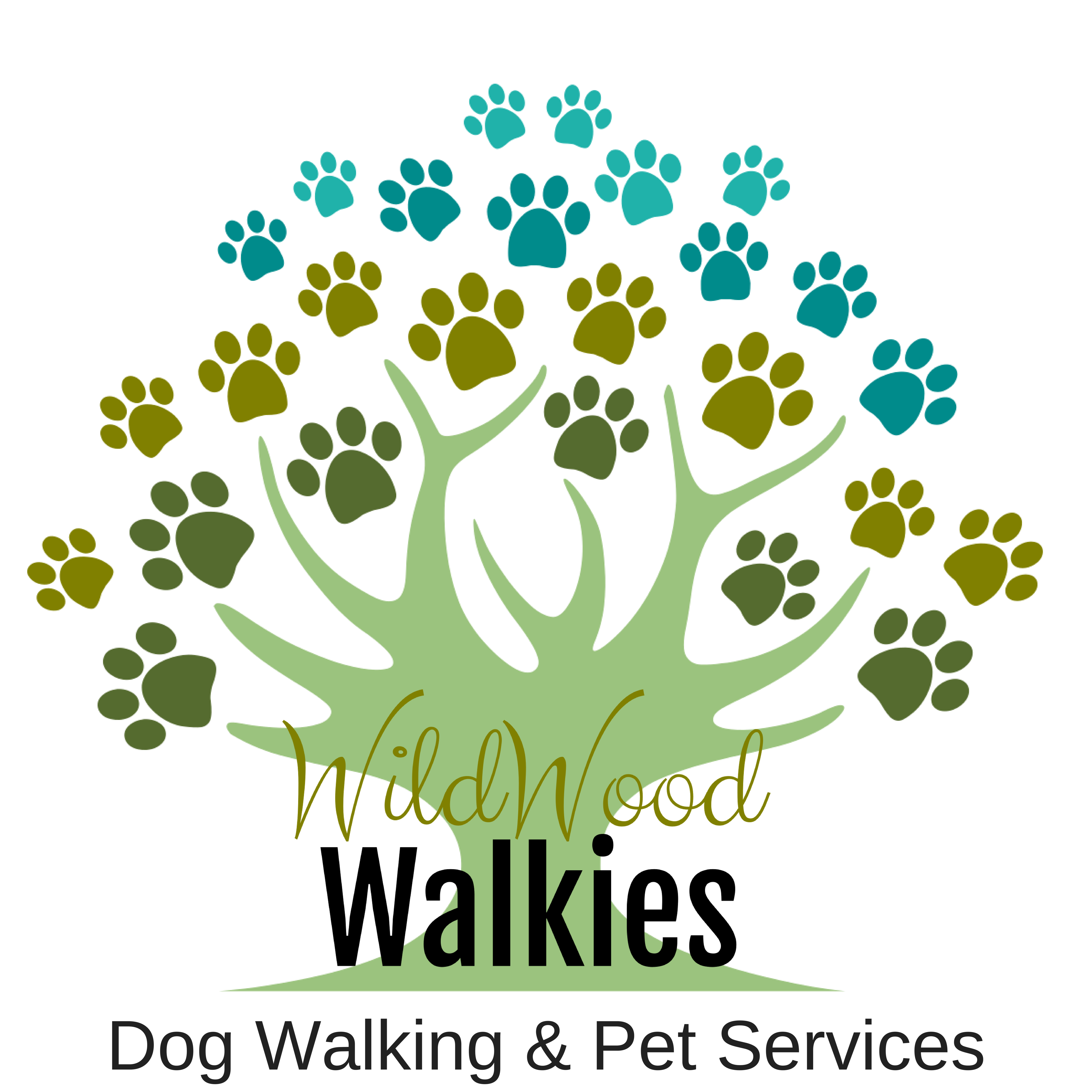 Tree clipart dog. Pet services torquay wildwood