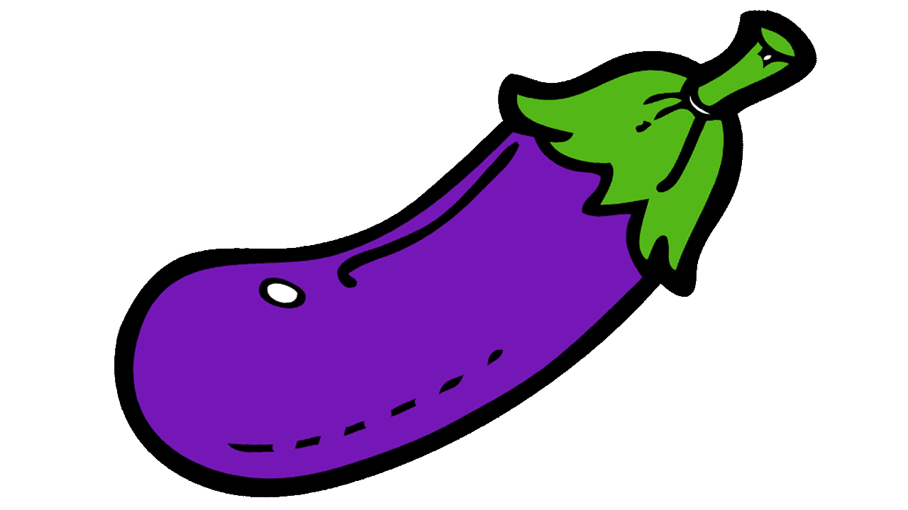 collection of png. Eggplant clipart color purple