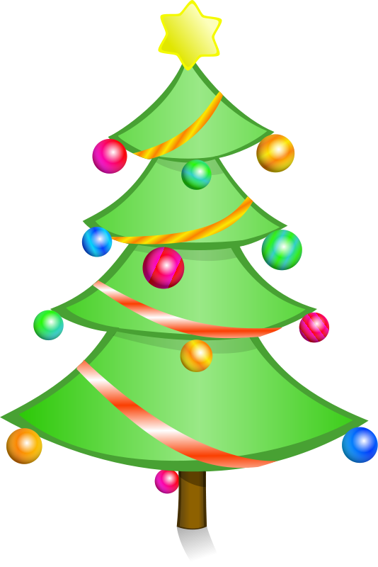 Christmas free stock photo. Tree clipart face