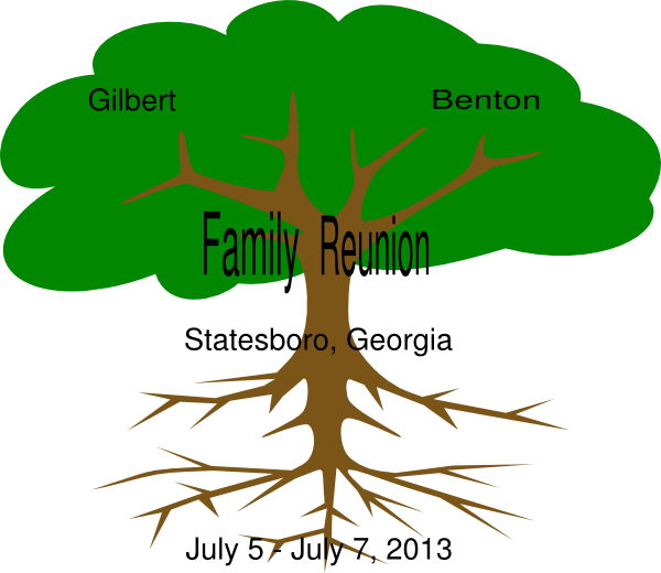 Gilbert Benton Family Reunion Clip Art at Clker.com - vector clip ...