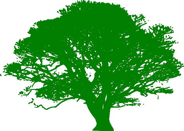 Tree clipart green. Clip art at clker
