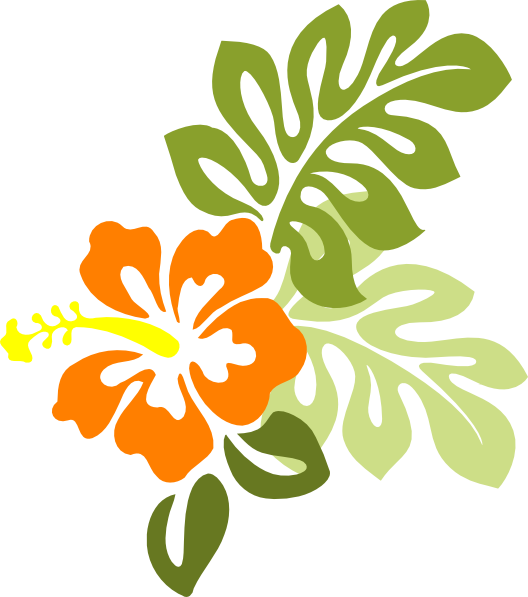 Hibiscus clipart svg free. Caribbean hawaiian flower collection