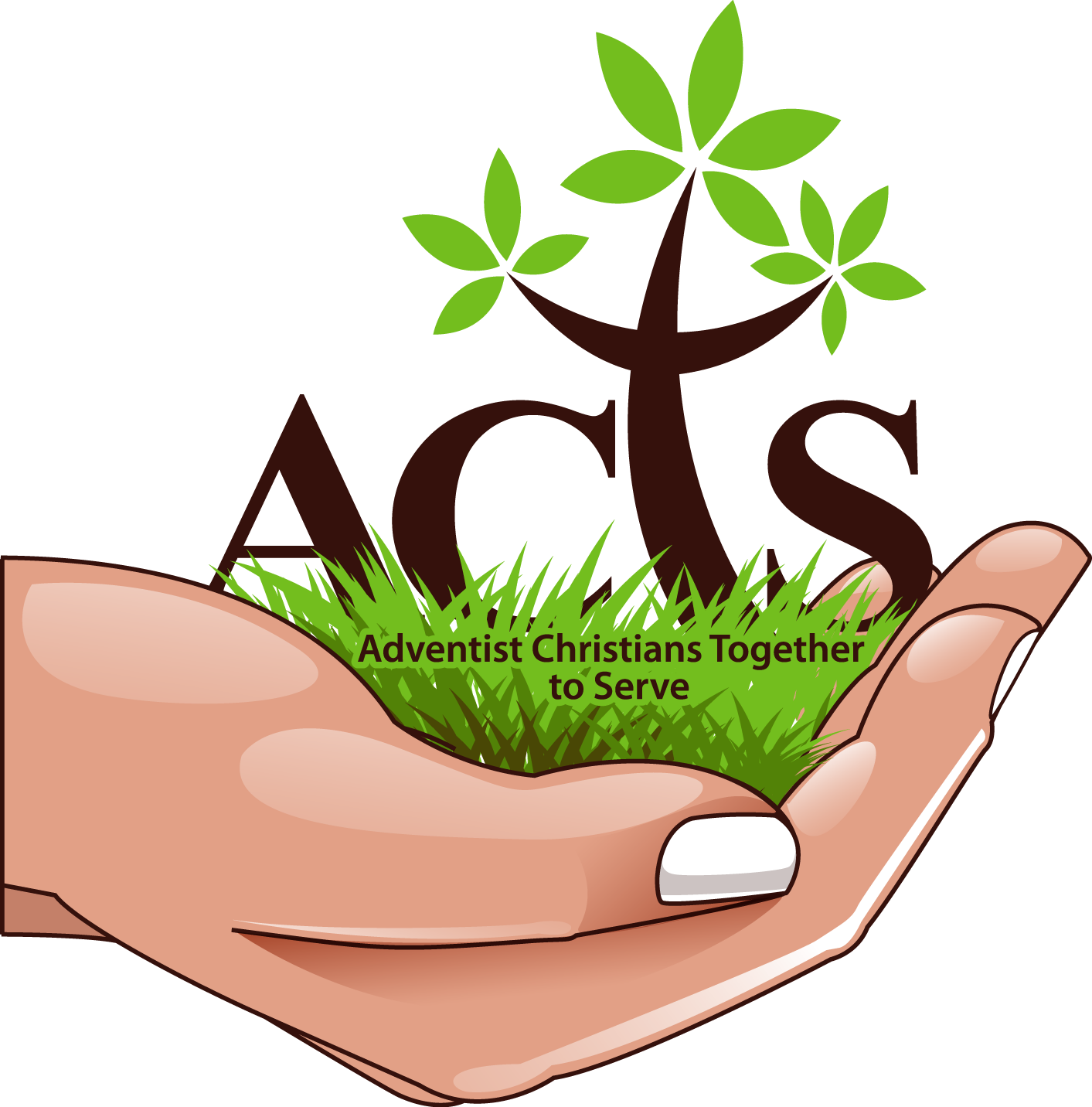 Event calendar acts bible. Clipart tree hand holding