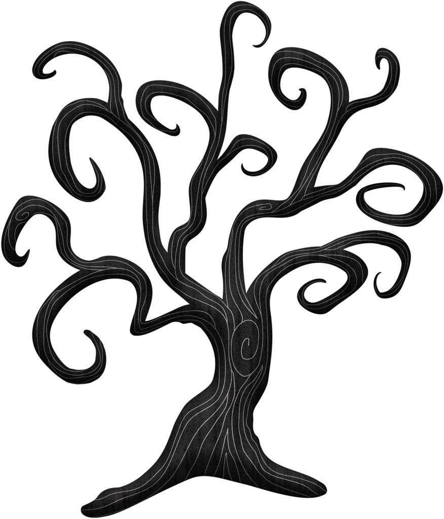 Ch b halloween pinterest. Clipart tree haunted