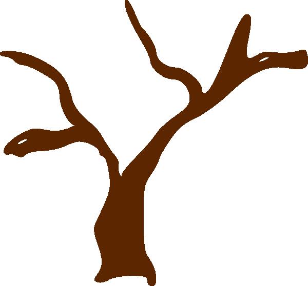 Trunk clip art at. Heart clipart tree