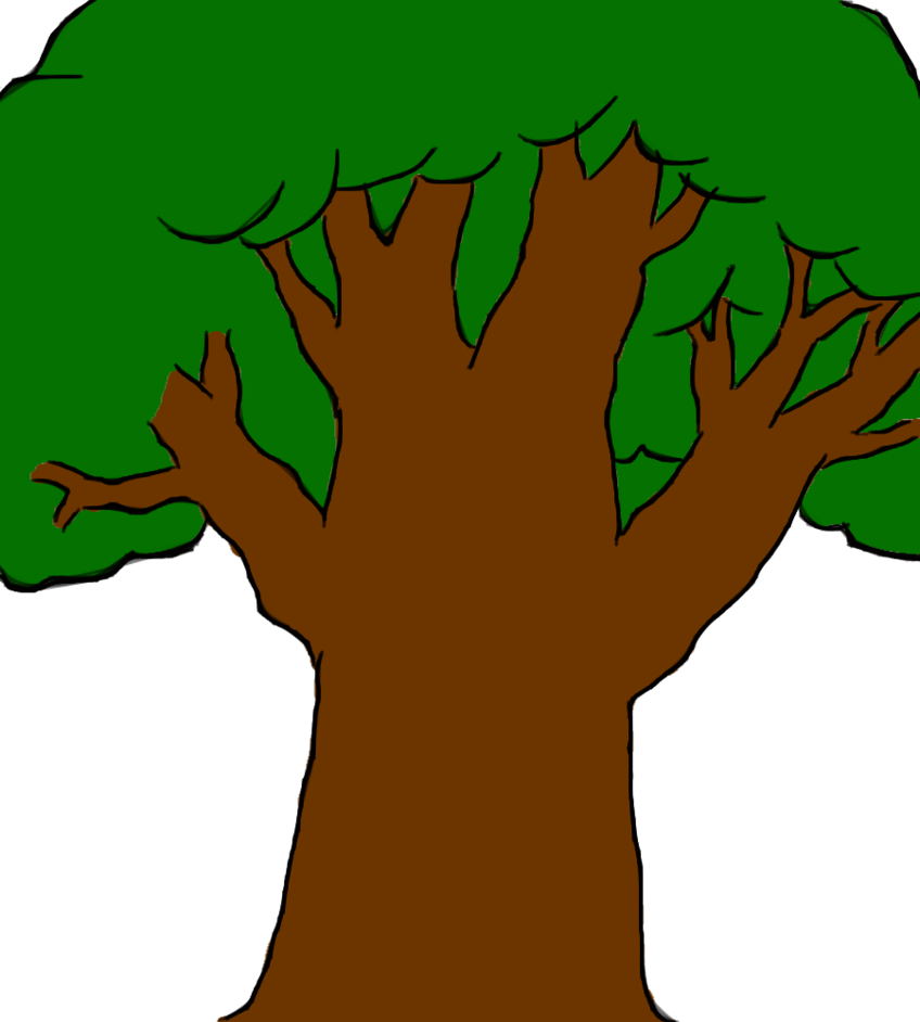 Professional cartoon pictures of. Tree clipart hug