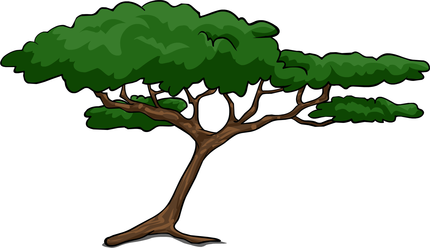 Clipart trees rainforest. Say no to drugs