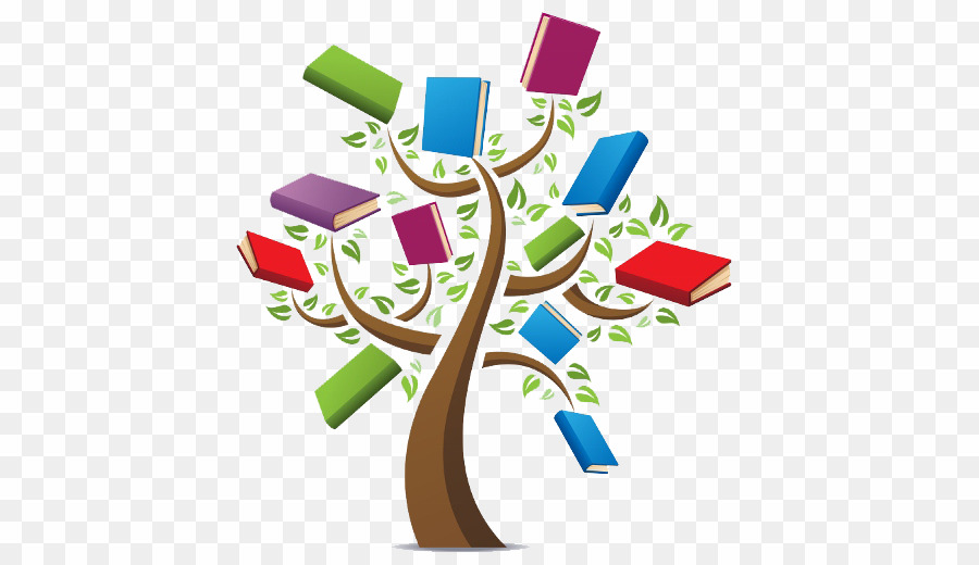 Tree clipart literacy. Reading and png download