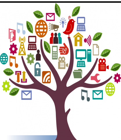 Clipart tree literacy. Foster financial higher learning
