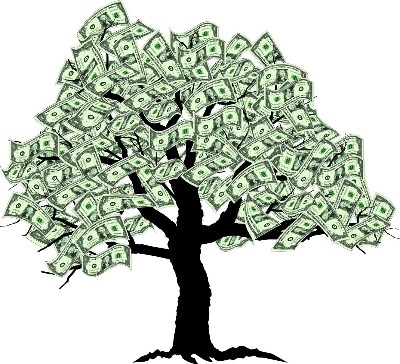 clipartlook. Money clipart money tree